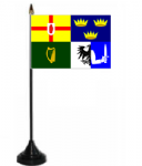 Ireland 4 Provinces Desk / Table Flag with plastic stand and base.
